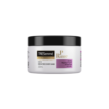 A 300ml bottle of TRESemmé Repair & Protect 7 Recovery Mask