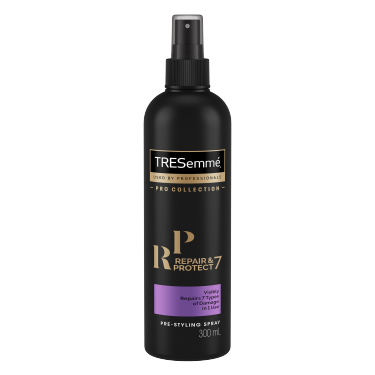 A 300ml bottle of Repair & Protect 7 Pre-styling Spray