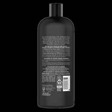 TRESemmé 24 Hour Volume Shampoo 828ml back of pack