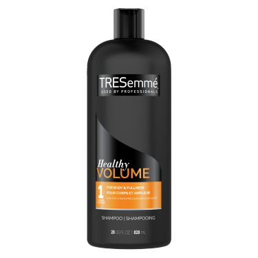 TRESemmé Healthy Volume Shampoo 828ml front of pack