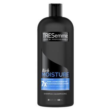 TRESemmé Rich Moisture Shampoo 828ml front of pack