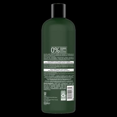image de l'arrière de la bouteille du TRESemmé® Colour Vibrance & Shine Shampoo 739 ml