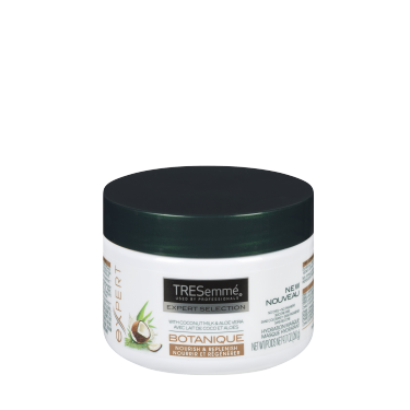 A 260 g tub of Botanique Nourish & Replenish Hydration Masque front of pack image