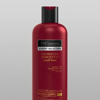 Product shot for TRESemmé Keratin Smooth collection