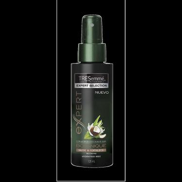 Imagen frontal del pack - un envase de 125 ml de Spray TRESemmé Botanique Nutre & Fortalece