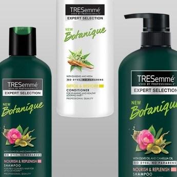 Product shot of the TRESemmé Botanique collection