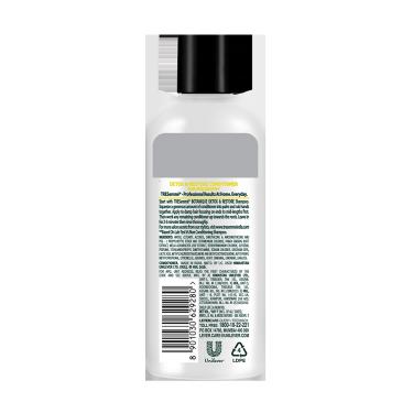 A 80ml bottle of Tresemme Botanique Detox & Restore  Conditioner back of pack image