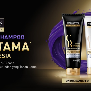Tresemme Purple Shamppo Bleached Hair