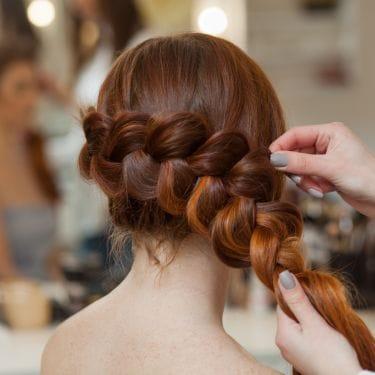 Tutorial rambut untuk pesta