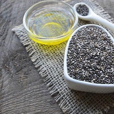 Chia seed oil & amino vitamin pada shampo rambut rontok