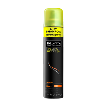 A 250 ml can of Instant Refresh Dry Shampoo