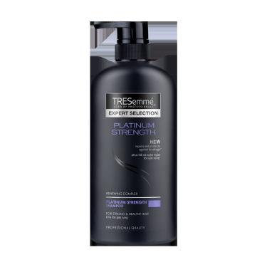A 600ml bottle of Platinum Strength Shampoo