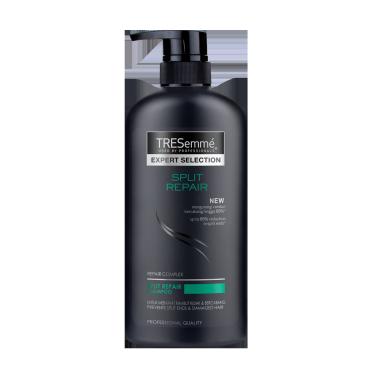 A 600ml bottle of Split Repair Shampoo