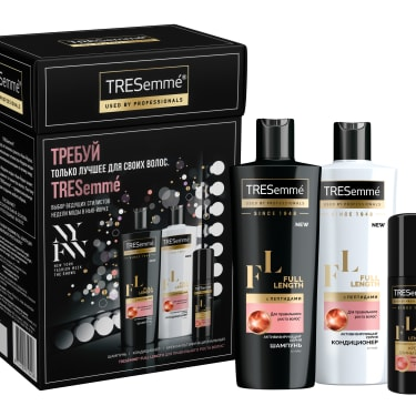 Подарочный набор для длины волос TRESemme Full Length – официальный сайт косметики для волос Tresemme