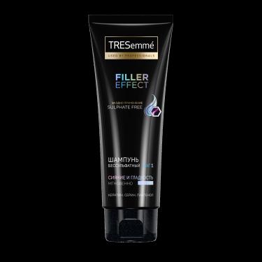 Бессульфатный шампунь Tresemmé Filler effect – официальный сайт косметики для волос Tresemme