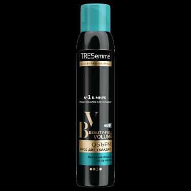 Мусс для укладки волос TRESemmé Beauty-full Volume – официальный сайт косметики для волос Tresemme