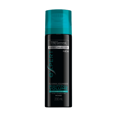 TRESemmé Expert Selection Beauty-Full Volume Touchable Bounce Mousse 200ml Front of pack image