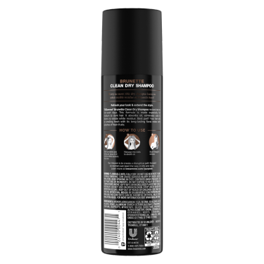 Brunette Clean Paraben Free Dry Shampoo for Oily Hair
