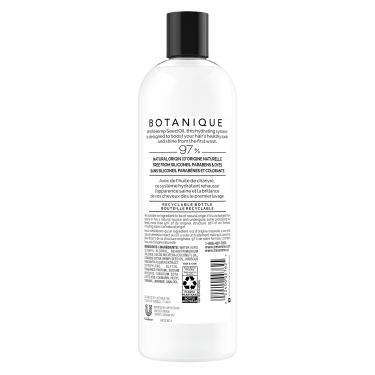 Botanique Hemp Hydration Conditioner for Dry Hair