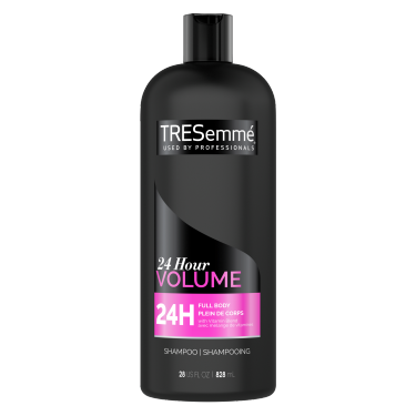TRESemmé 24 Hour Volume Shampoo 828ml front of pack
