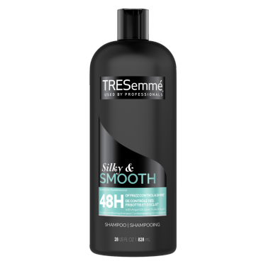 TRESemmé Silky & Smooth Shampoo 828ml front of pack