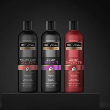 Collection shot of Shampoo products
