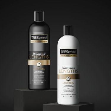 TRESemmé® Maximum Lengths Hair Lengthening Collection