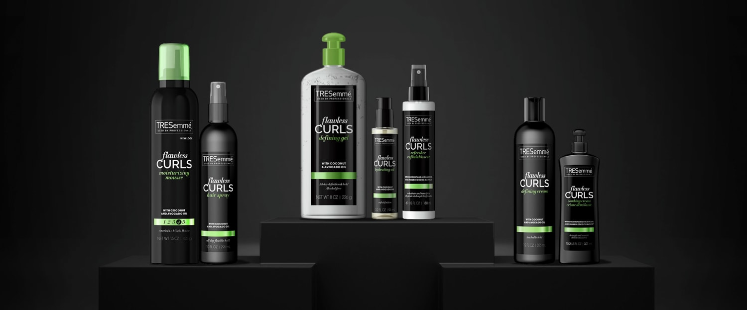New Flawless Curls Styling Products Tresemme