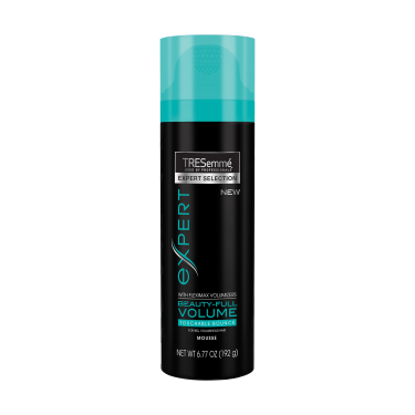 A 6.77oz can of TRESemmé Beauty-Full Volume Hair Mousse front of pack image