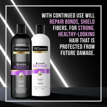 Keratin Repair Hair Smoothing Conditioner for Damaged Hair