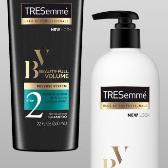 Product shot for TRESemmé Beauty-Full Volume collection