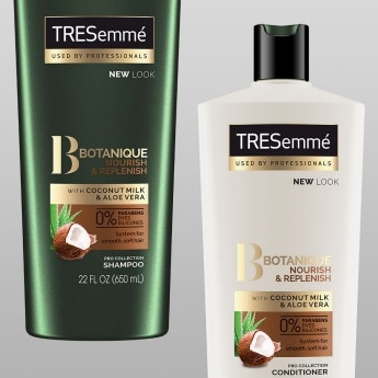 Product shot of TRESemmé Botanique collection